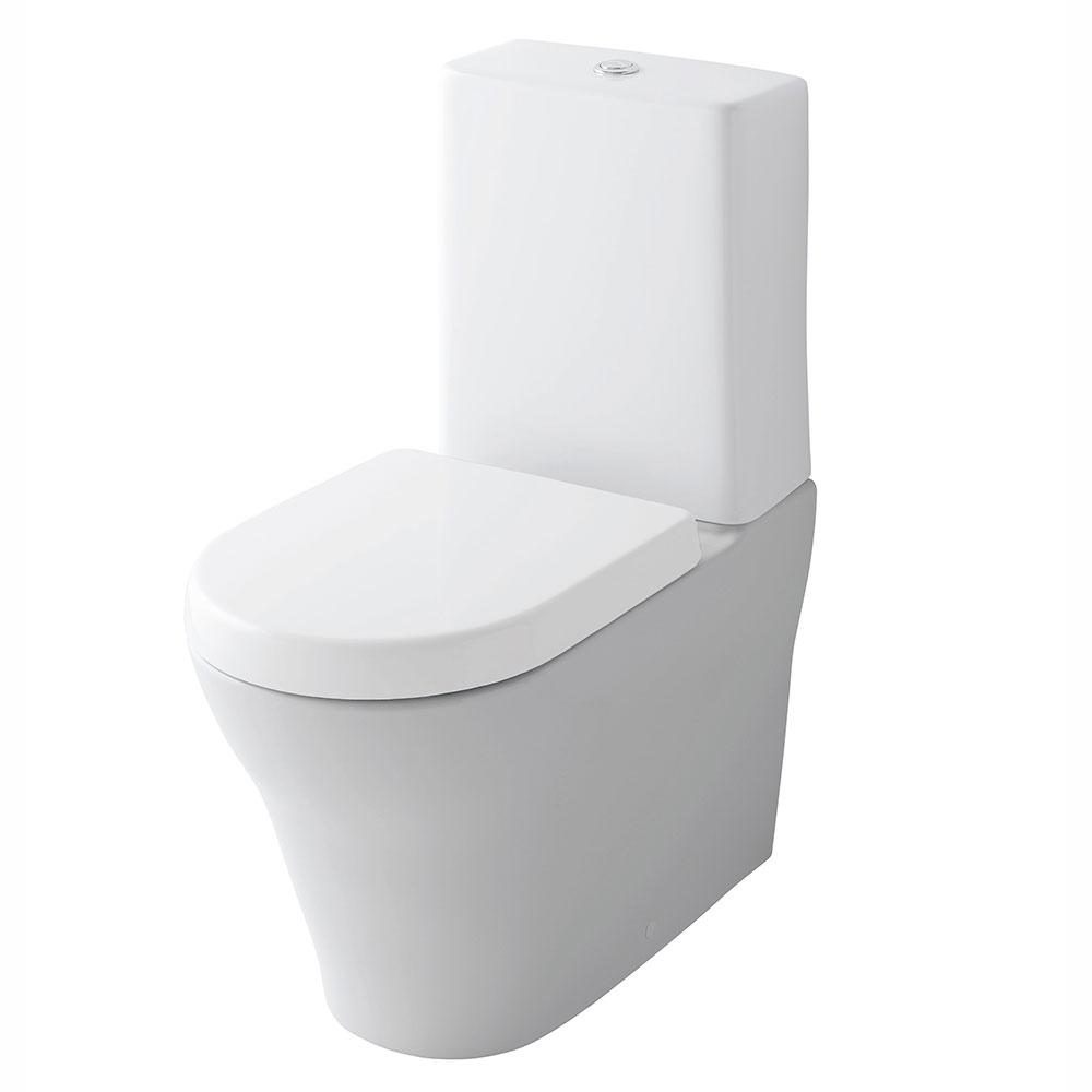 TOTO NC fritstående toilet med firkantet cisterne