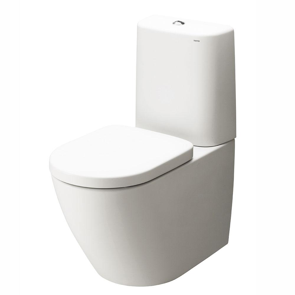 TOTO NC fritstående toilet med rund cisterne